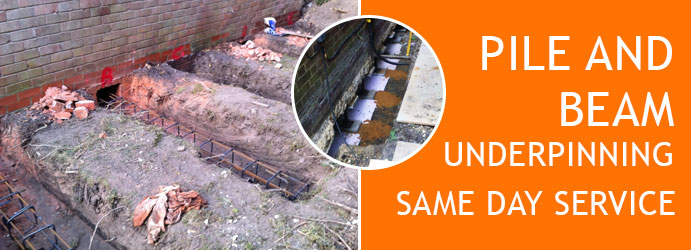 Pile and Beam Underpinning Melbourne